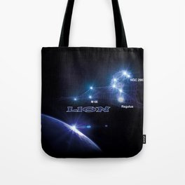 Lion - sign of the zodiac Tote Bag