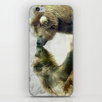 bears iPhone & iPod Skins featuring Bears by Julie Hoddinott
