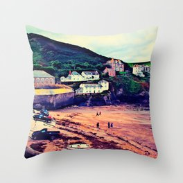 Doc Martin's House at Portwenn Throw Pillow