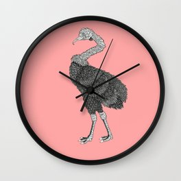 Greater Rhea Wall Clock