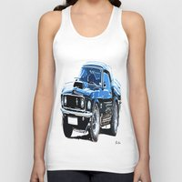 muscle Tank Tops featuring american muscle  by Vector Art