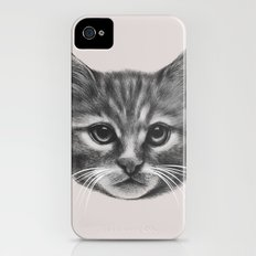 Everybody wants to be a Cat (MONOTONE) iPhone (4, 4s) Slim Case