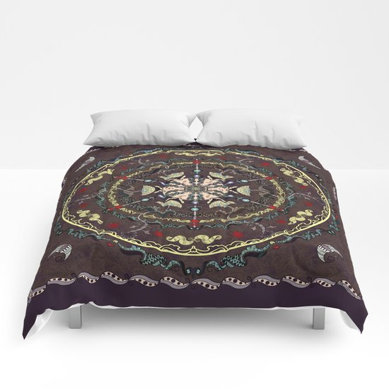 The Source Mandala Comforters