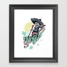 livin la vida loca Framed Art Print