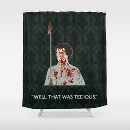 The Hounds of Baskerville - Sherlock Holmes Shower Curtain