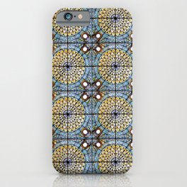 A sky full of stained glasses iPhone Case