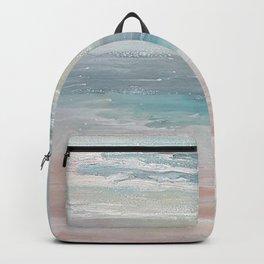 Sea breeze, acrylic on canvas Backpack