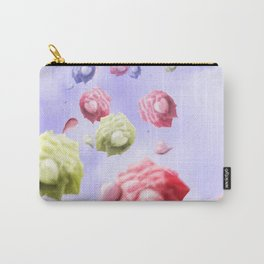 Morning Roses Carry-All Pouch