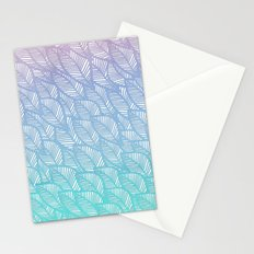 Leaves in Winter Stationery Cards