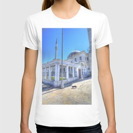 Istanbul Mosque Cat T-shirt
