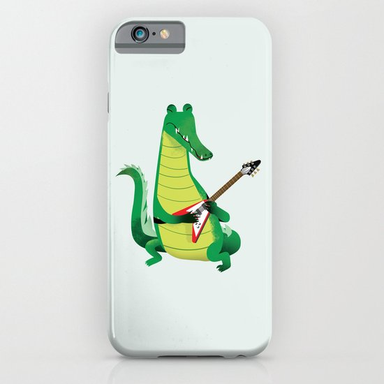 Crocodile Rock iPhone & iPod Case
