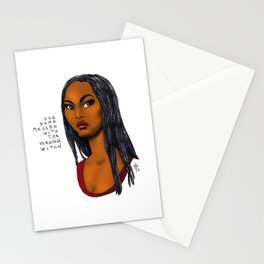 Wrong Witch Stationery Cards