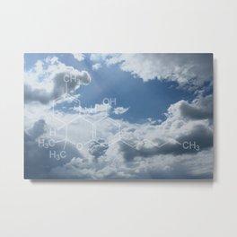 THC (Tetrahydrocannabinol) Metal Print