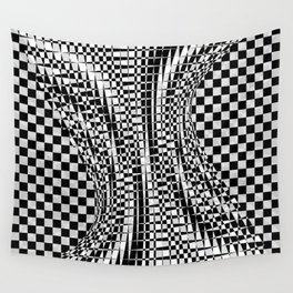 black white 09 Wall Tapestry