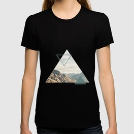 Mountain with Shapes T-shirt