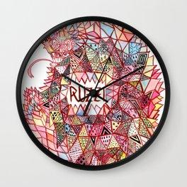 Ruzzi # 001 Wall Clock