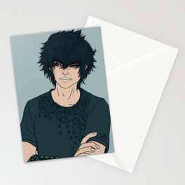 Grumpy Prince Noctis Stationery Cards