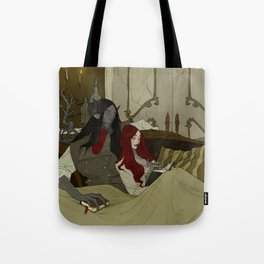 Beauty and the Beast - Evening Tote Bag