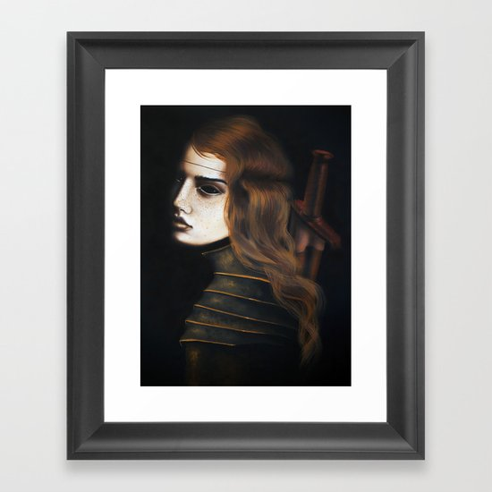 Bloodthirsty Framed Art Print