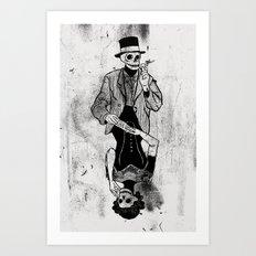 Gra Smierci Art Print