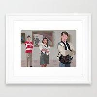 ferris bueller Framed Art Prints featuring Ferris Bueller You're My Hero. by Lee_B