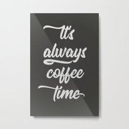The Coffee Time II Metal Print