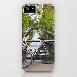 Dutch Bicycles iPhone Case