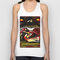 pain Tank Tops featuring Pain by Ricardo Patino