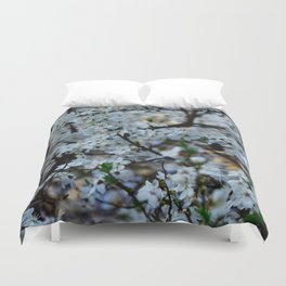Flower Photography by Wiktor Tenerowicz Duvet Cover