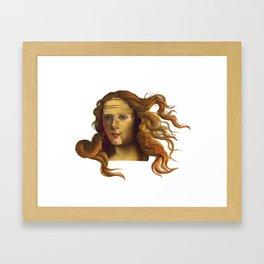 Venus Lisa Framed Art Print