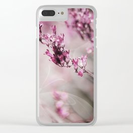 ROSE SPANGLES no1B-Butterfly Clear iPhone Case