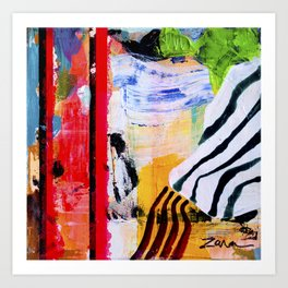 Jungle Fever Ism I Art Print