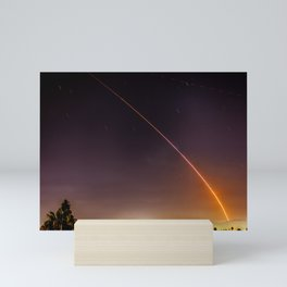 Atlas V Through the Sky Mini Art Print