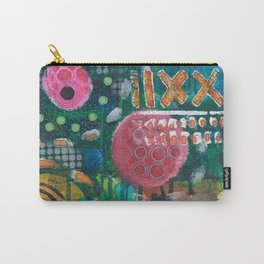 Pink Planet Carry-All Pouch