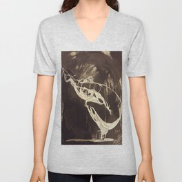 Fish in a Pond Unisex V-Neck