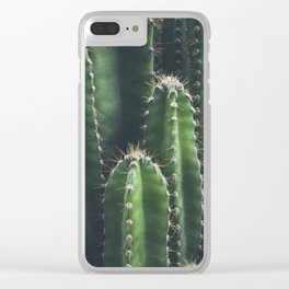 Cactus - Plant Photography Clear iPhone Case