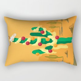 Merry Cactus Rectangular Pillow