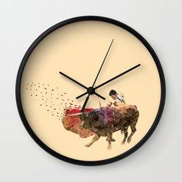 The Evading Cape Wall Clock