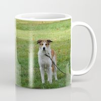 courage Mugs featuring Courage by Kaleena Kollmeier