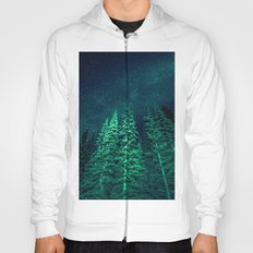 Nature Forest - Night Star Signal Hoody