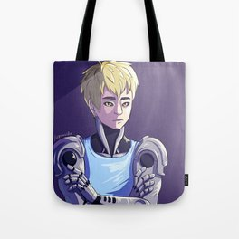 Genos - Purple Tote Bag