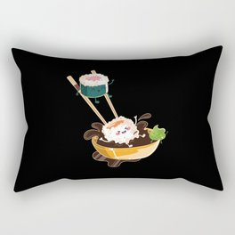 Sushi Anime I Japanese Food I Kawaii Sushi Rectangular Pillow