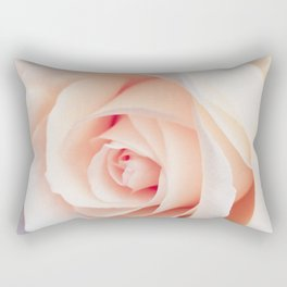 Flowers Photography | Rose | Spring | Easter | Blush Pink Rectangular Pillow