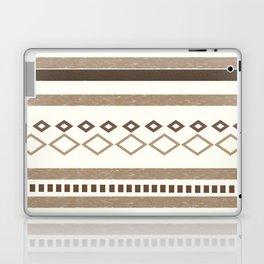 Western Pattern, Out West, Patterns, Brown, Tan, Beige, Shapes, Geometric Western Art Laptop & iPad Skin