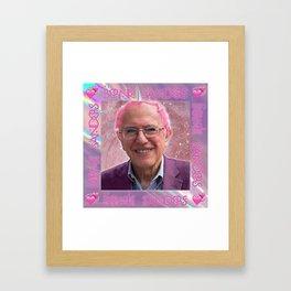 Bernie Sanders is Kawaii Framed Art Print
