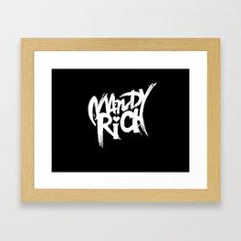 Mandy Rich Framed Art Print