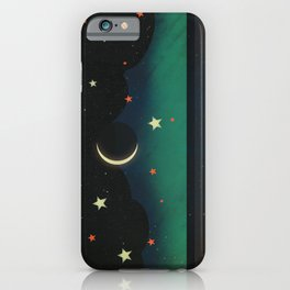 Abstract Moonscape iPhone Case