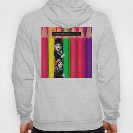 INTROSPENCIL / Pet Shop Boys - Introspective - The Kid Chaplin - Digital Illustration - Pop Art Hoody