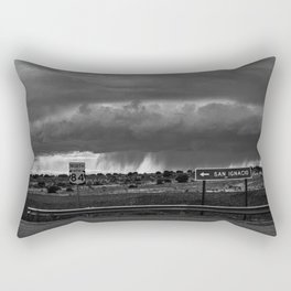 Storming North 84 Rectangular Pillow