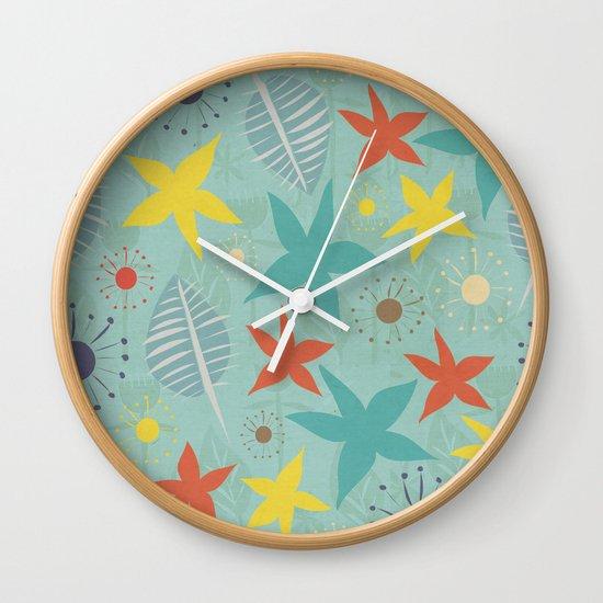 Tropical Fun Wall Clock